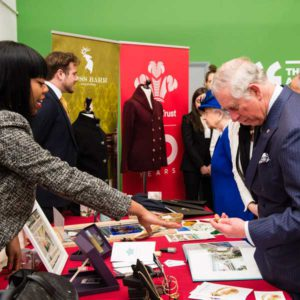 Lenique Louis, Jeweller, with Prince Charles