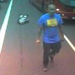 Mankiewicz is caught on camera walking away after leaving his victm in front of a moving bus