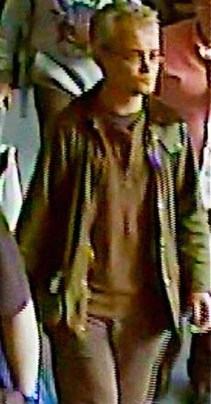 CCTV image issued by police
