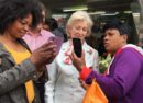 Selfies in Brixton Market with Princess Alexandra