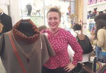 Lydia Gardner of Tree Shepherd in Diverse Gift Shop