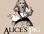 Alice's Pig logo