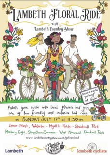 Flyer for floral ride