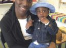 Florence Eshalomi with child