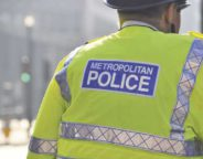 Metropolitan Police Officer in visibility vest