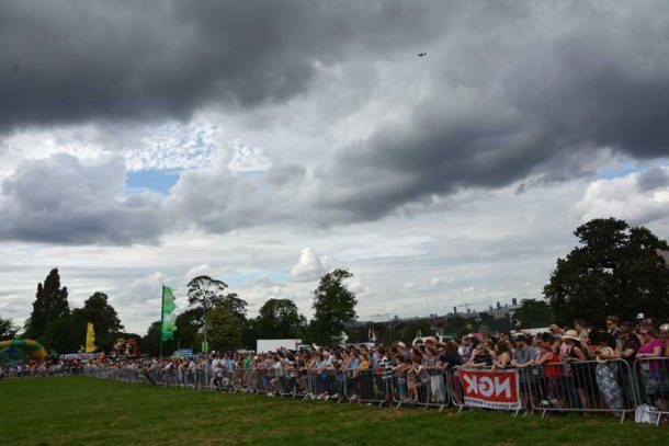 Dark clouds over Lambeth Country Show 2016
