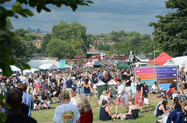Crowds at Lambeth Country Fair 2016