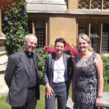 Lambeth council leader Lib Peck (right) at Lambeth Palace with archbishop Justin Welby and Dr Sara Hanna of the Evelina London children's hospital, part of St Thomas' hospital.