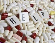 Pills and help sign