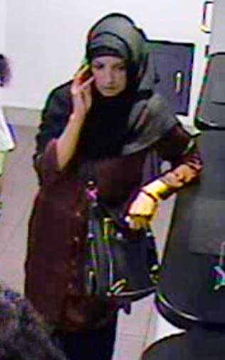 CCTV image of the woman police wish to speak to