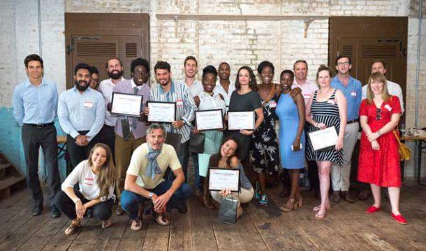 Hatch entrepreneurs graduation at Brixton East