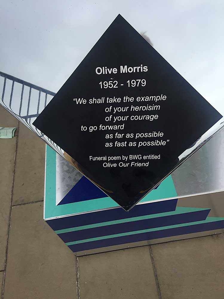 Black Cultural Archives: We stand as living monuments – Olive Morris