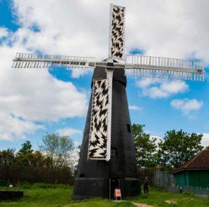 Brixton Windmill sails for Brixton Design Trail