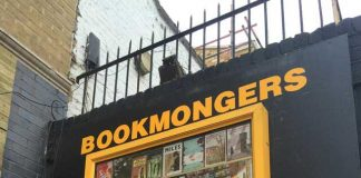 Bookmongers sign