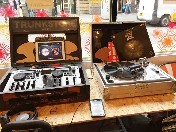 Retro decks at Diverse on Coldharbour Lane