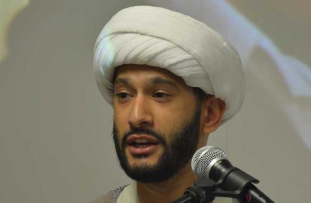 Sheikh Jaffer Ladak of the Hyderi Islamic Centre in Streatham
