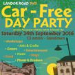 Landor Road event flyer
