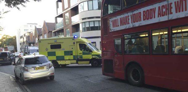 Buses used Brixton Water Lane