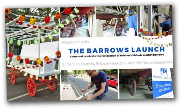 Barrows launch invitation