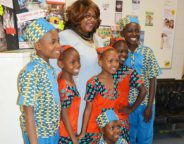 Tulse Hill ward councillor Marcia Cameron welcomed the choir to the Jubilee Hall on the Tulse Hill estate