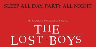 Poster for film The Lost Boys