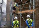 Scaffolding training in Brixton Prison