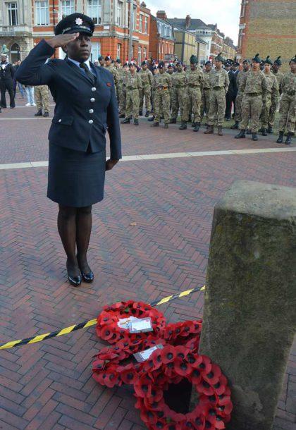 London Fire Brigade took part