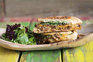 Boom Shack restaurant sandwich