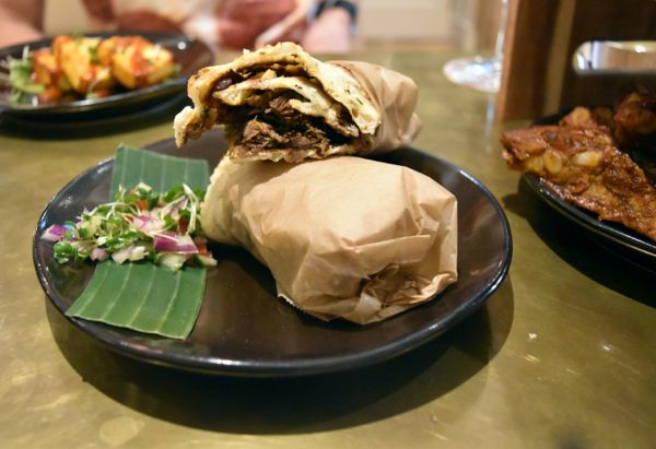 Duck Kathi Roll Booma Brixton