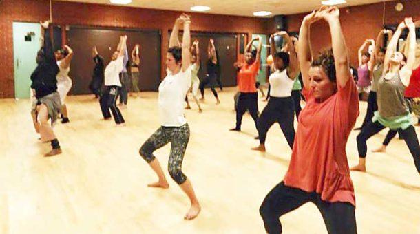 Frititi Pan-African dance class