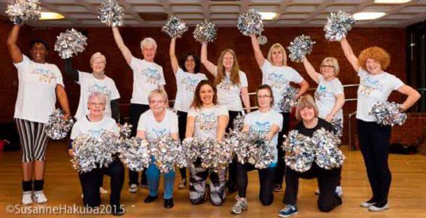 Silver Fit cheerleaders