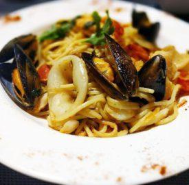 Seafood Spaghetti Etta's Seafood Kitchen