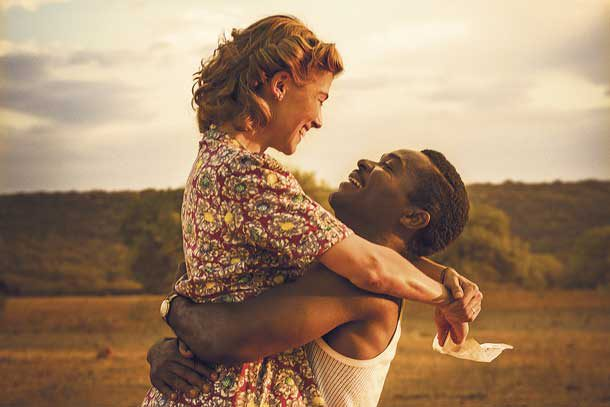 Still from film: A United Kingdom