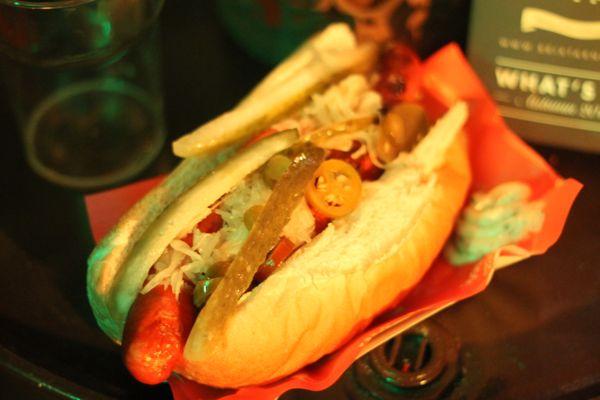 Brixtarnia hotdog
