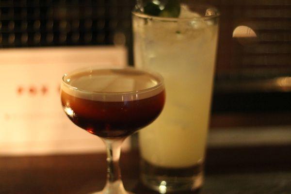For Bar Brixton cocktails