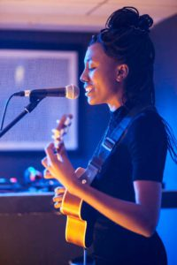Chisara Agor performs Upstairs at the Ritzy