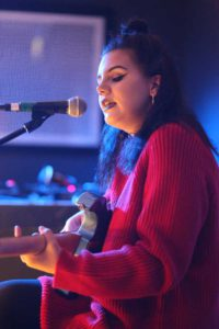 Isabella Cross performs Upstairs at the Ritzy
