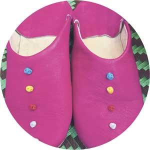Rachel and Malika slippers