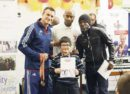 Richie Woodall with Dwaynamics boxing coaches