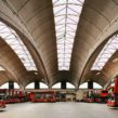 Arched roof of Stockwell Bus Garage