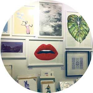Studio 73 wall