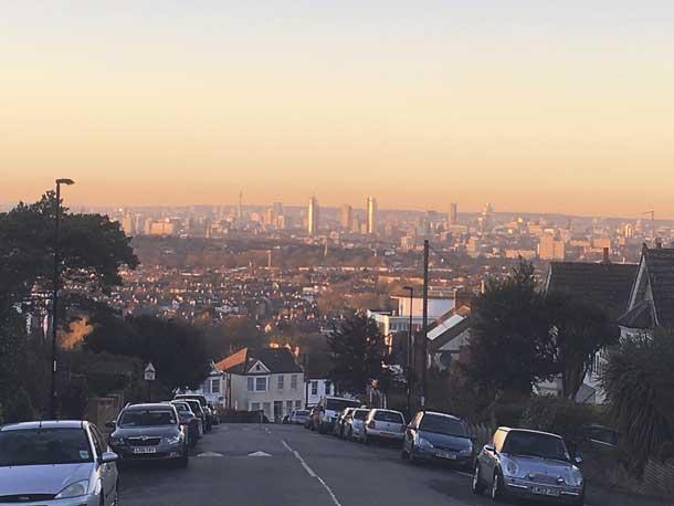 Air Pollution above Lambeth