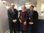 Deputy London Mayor with Brixton Divert Team