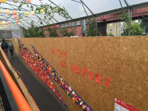Brixton Design Trail We Can Be Heroes installation