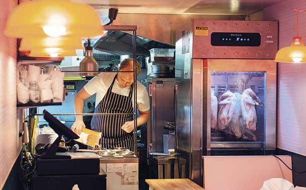 Duck Duck Goose restaurant at Pop Brixton