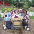 Volunteers at Loughborough Farm