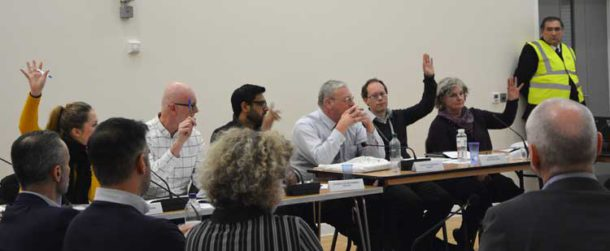 Councillors vote to back the planning application