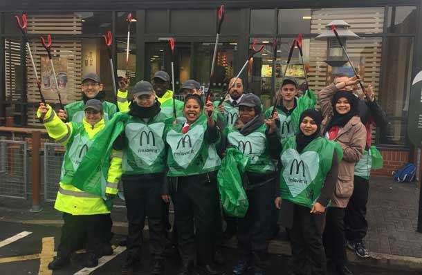 McDonald's little crew