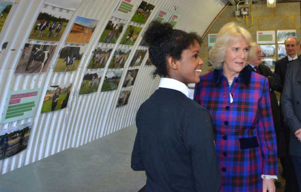 Natasha Willimams with the Duchess
