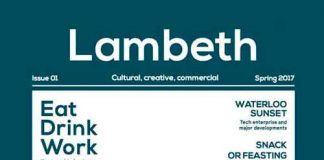 Lambeth magazine cover